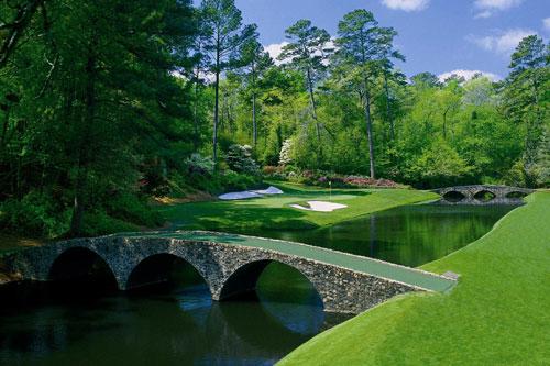 Augusta's legendary Amen Corner