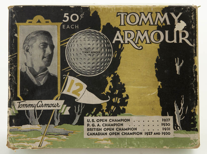Tommy Armour Golf Balls, 50c each