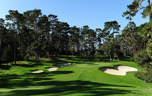 "The 16th hole (""Black Dog"") at Spyglass Hill"