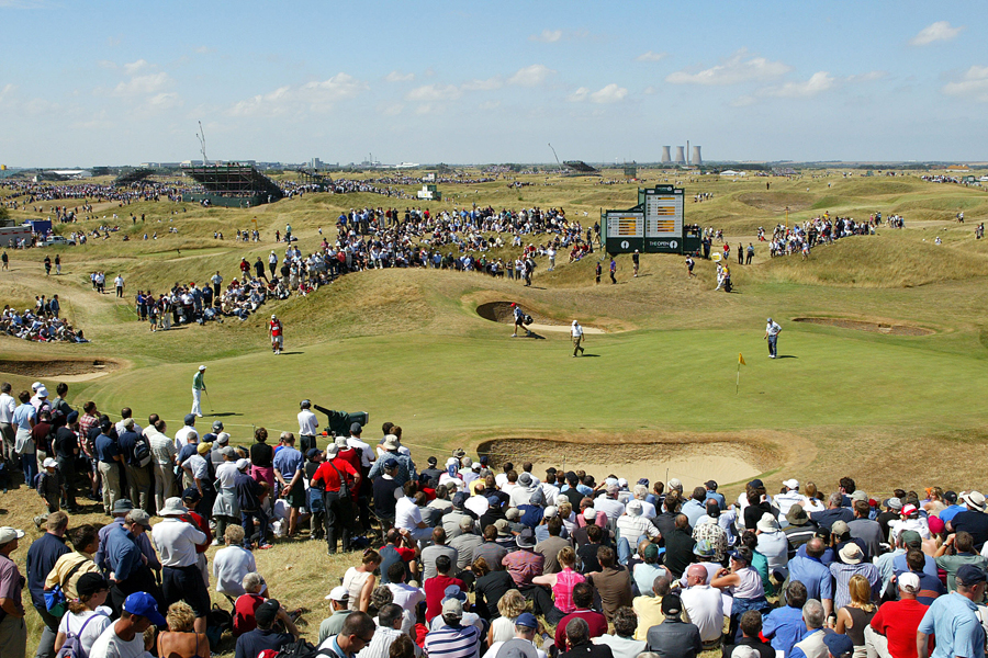 Royal St. George's provided a stuanch test of golf the last time the Open Championship visited Kent, in 2003