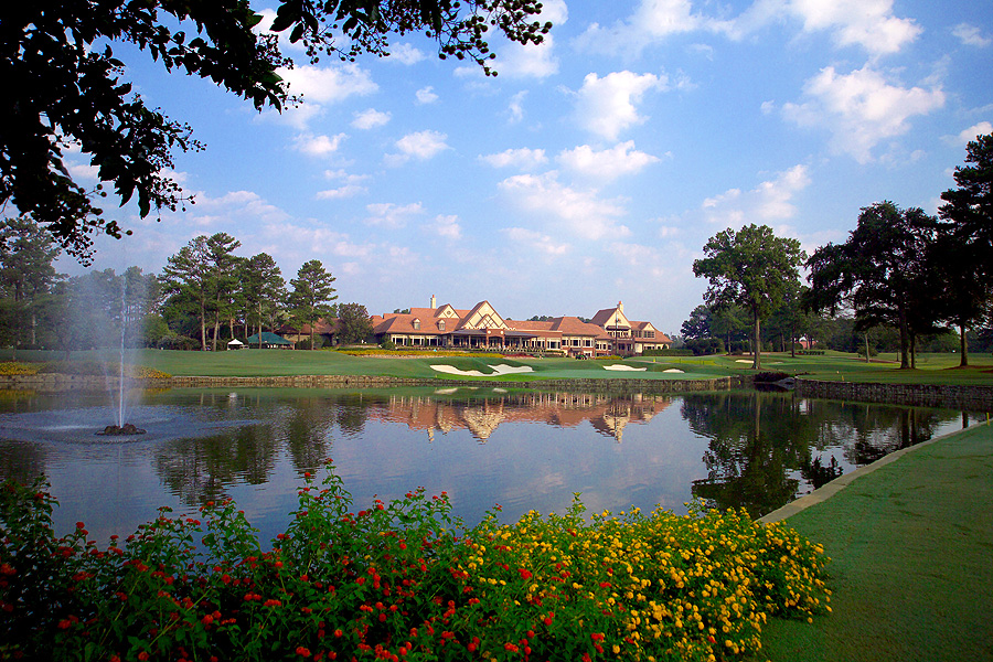 The Highland Course at Atlanta Athletic Club, the venue for the 2011 U.S. PGA Championship