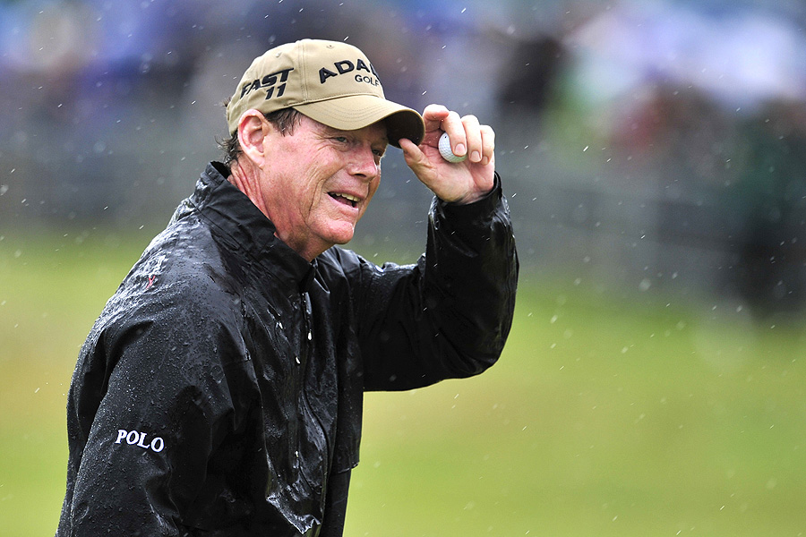 Tom Watson showed how Royal St. George's could be played during the worst of conditions