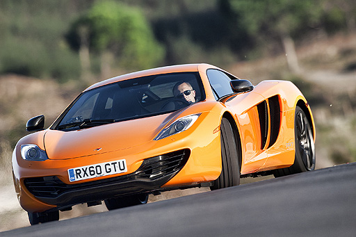 The MP4-12C accelerates than any road car McLaren have built before, reaching 100 kph in just 3.1 seconds