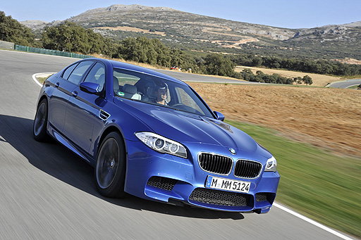 The new M5 reaches 100 kph in 4.4 seconds