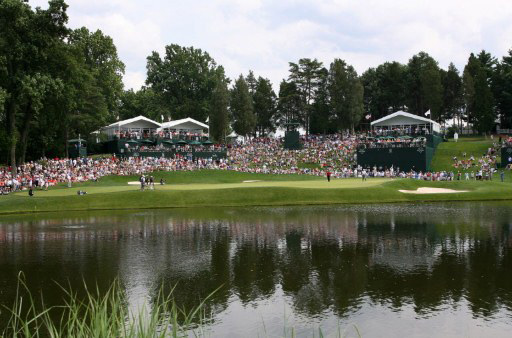 Seven players from the first 8 groups found the water at what is being called one of the toughest ever opening holes