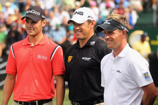 Martin Kaymer, Lee Westwood, Luke Donald - top ranked players in the world
