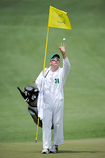 Christian Donald at The Masters