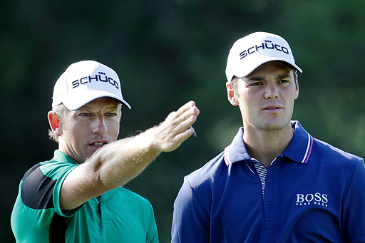 Donald (left) and Kaymer (right)