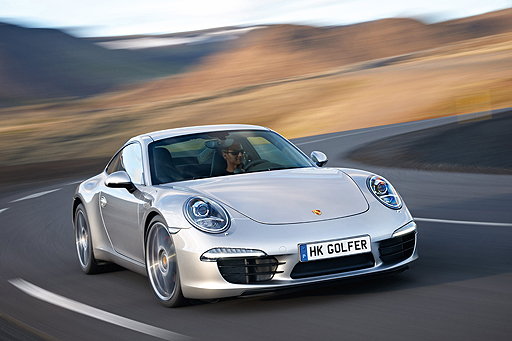 The all new Porsche 911