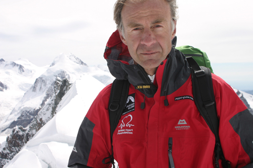 British explorer Sir Ranulph Fiennes