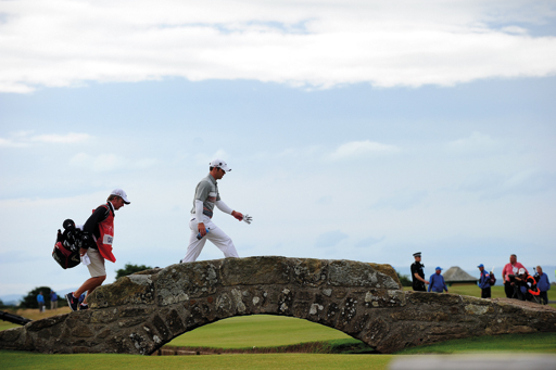 Casey at St. Andrews, where he finished runner-up to Louis Oosthuizen in 2010