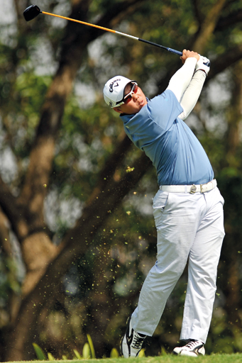 Lam Chih Bing of Singapore will make his HKPGA debut