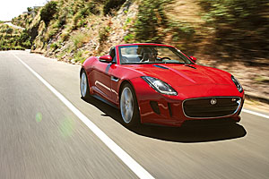 The F-Type's styling is edgy and confident