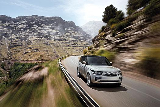 The most aerodynamic Range Rover ever
