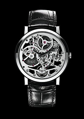Piaget's Altiplano Skeleton Ultra-Thin
