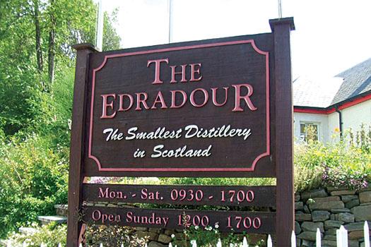 Despite only three employees and three minimal sized copper stills, Edradour has flourished