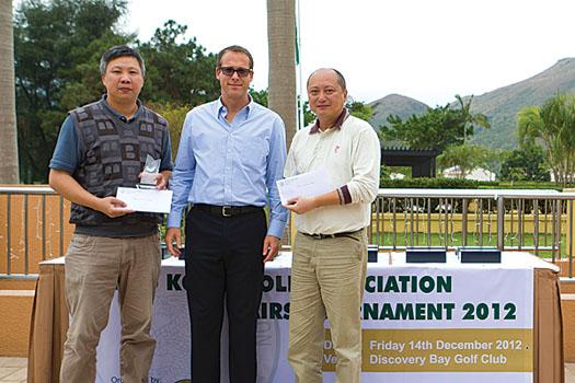 Au Chi Wai and Fung Kwan win the HKGA Pairs Tournament