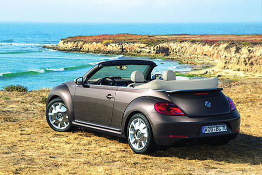 The new Beetle cabriolet is just going on sale now