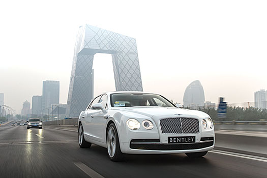 Bentley is a little ahead of the game in China