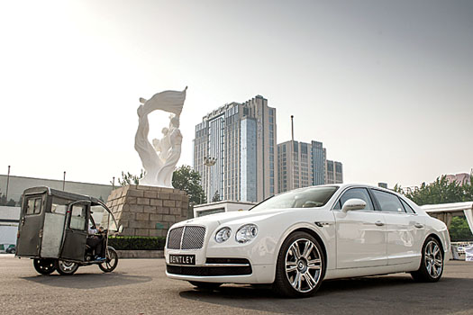 Around 90 per cent of Bentley's Chinese customers retain a driver
