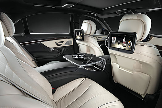 The back seats are arguably the most important in an S-class