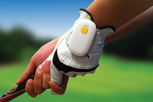 The lightweight golf swing analyser GolfSense