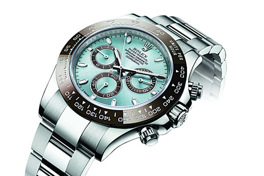 The latest edition of the Rolex Daytona Cosmograph