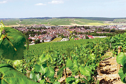 The picturesque village of Chablis in Burgundy where tradition reigns