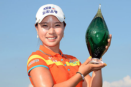 Image result for Hee Young Park wins manulife