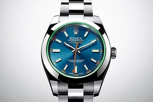 The Oyster Perpetual Milgauss from Rolex