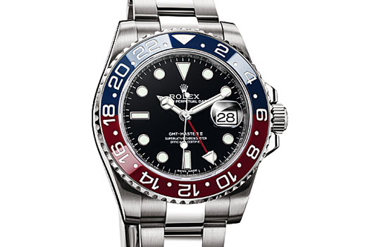 The GMT Master II from Rolex