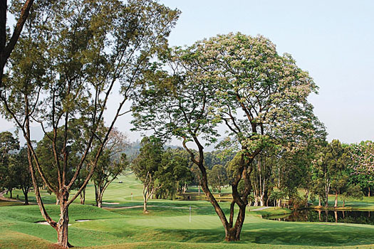 Fanling is a world away from the more modern championship courses of today