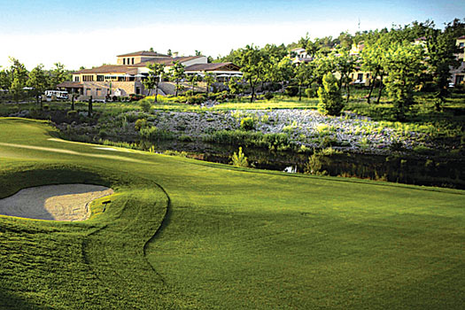 The stunning Terre Blanch Golf and Spa Resort