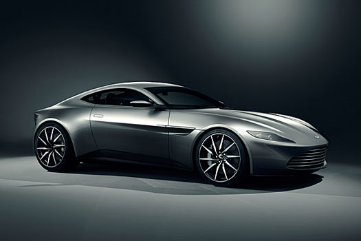The DB10, to be featured in the upcoming James Bond flick Spectre