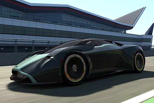 The DP-100 designed for the GrandTourismo driving game