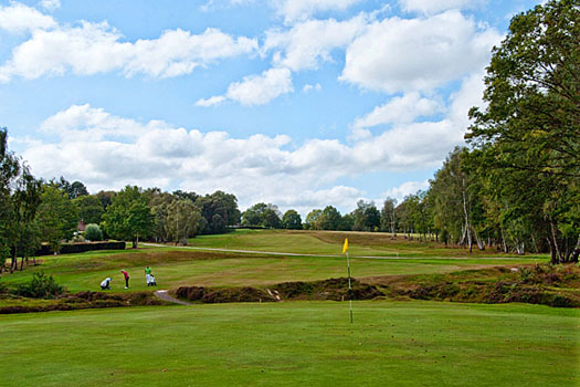 The Old Course at Royal Ashdown Forest