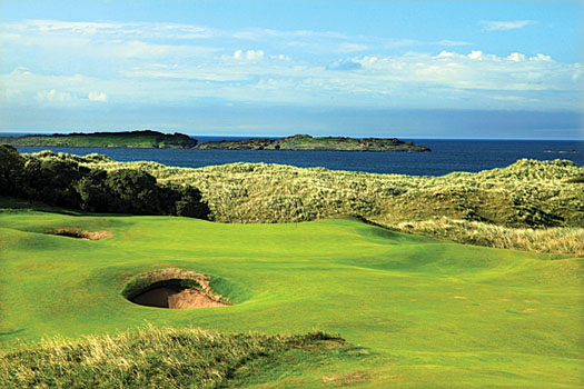 The rugged links at Royal Portrush, a course that has withstood the test of time magnificently