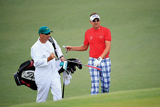 Ian Poulter hit 82% of the greens in regulation