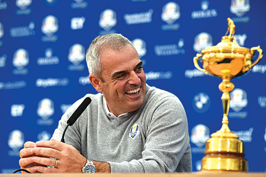 All smiles at the final-day press conference