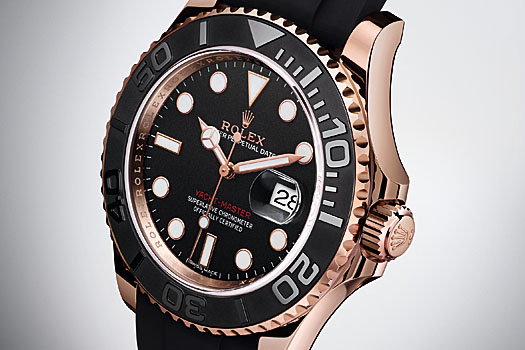 The new Yacht-Master and its Oysterflex bracelet
