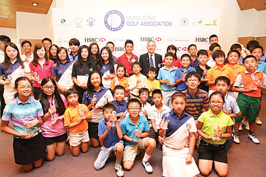 More than 80 juniors were in action at the 2015 Albert K. W. Lai Junior Tournament