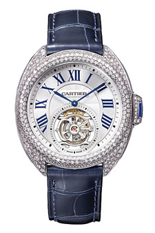 The Clé de Cartier Flying Tourbillon