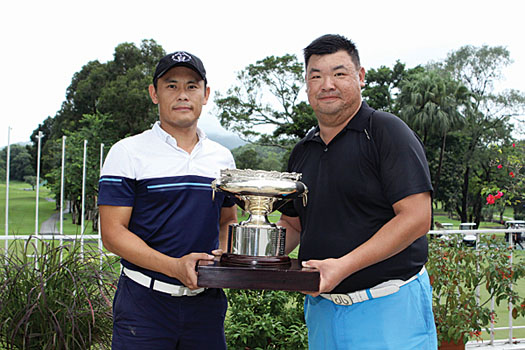 Wilson Choy and Wong Woon-man
