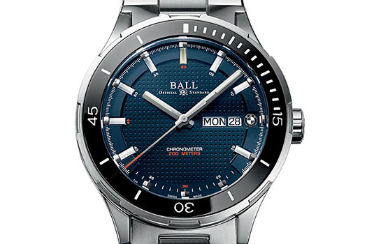 The Ball For BMW TimeTrekker blends design and functionality, fundamental values of both the watchmaking and automotive industries