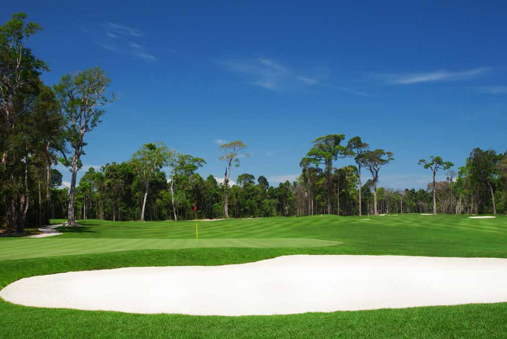 The 27-hole resort layout is the first course on Phu Quoc ... but there are expected to be 14 completed by 2020