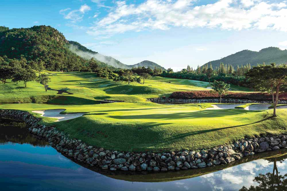 Hua Hin has perfect year-round golfing weather