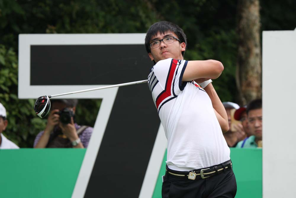 Dou Zecheng in action during last month's Shenzhen International
