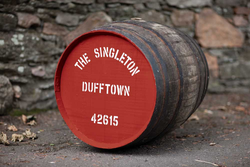 The 25-year-old has been aged in ex-bourbon American oak casks