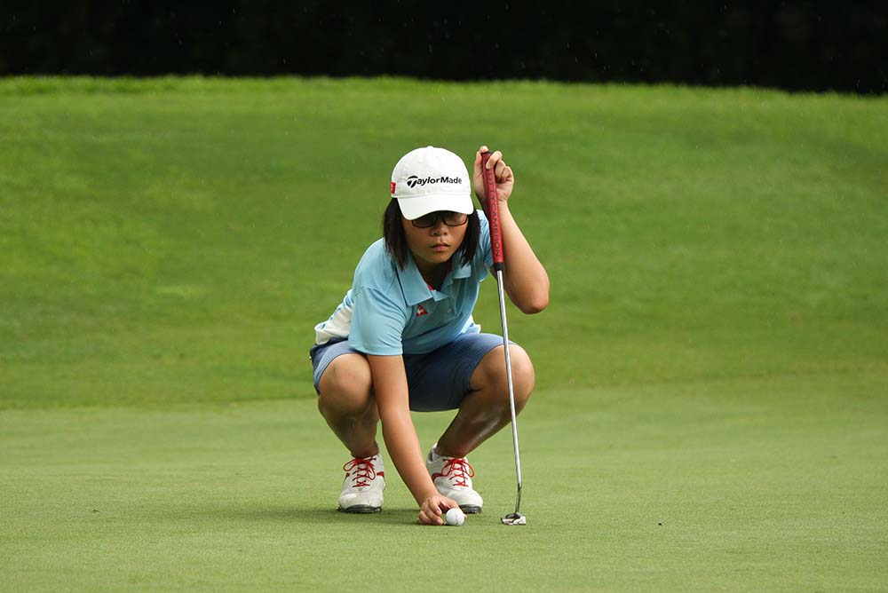 12-year-old Chloe Chan of Hong Kong narrowly missed out on making the cut