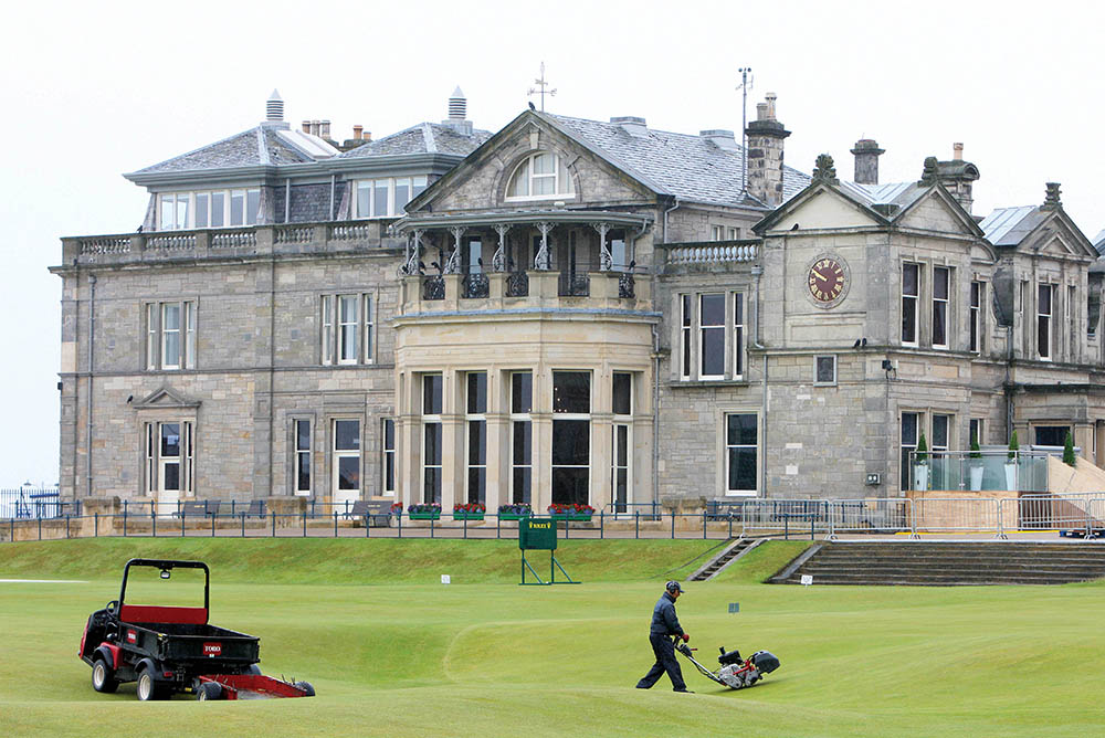 The Clubhouse of the Royal and Ancient Golf Club of St Andrews